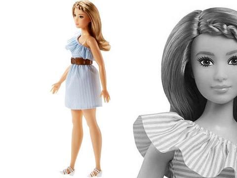 Кукла Барби Модница Стильная полоска