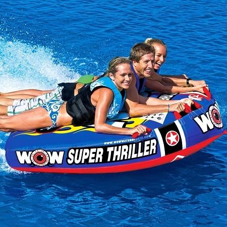 "Towable ski tube ""Super thriller"", 3 person"