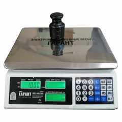 Купить Весы торговые настольные ГАРАНТ ВПС-40К, LCD, 40кг, без стойки