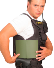 Бронежилет Комфорт 1-1 УНИ с боковой защитой, Бр1 класс защиты