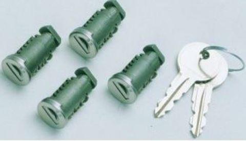 Набор личинок с ключами от багажной системы Lux 4 шт.