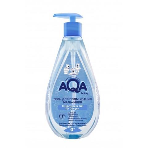 AQA baby. Гель для подмывания мальчика 0+, 250 мл