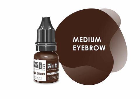 Medium Eyebrow (средне-коричневый нейтральный) • Wizart Microblading • пигмент для бровей