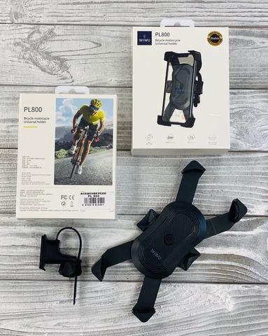 Держатель на велосипел Wiwu Bicycle PL800 /black/