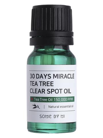 Масло с чайным деревом для проблемной кожи 30DAYS MIRACLE TEA TREE CLEAR SPOT OIL 10ml