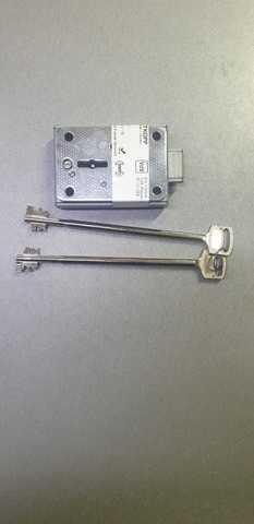 Замок для сейфа (сейфовый) CAWI (ключ 165мм)