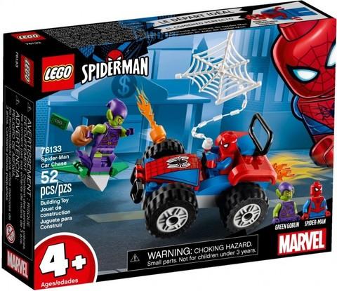 LEGO Super Heroes: Человек-паук: Автомобильная погоня Человека-паука 76133 — Spider-Man Car Chase — Лего Супергерои Марвел