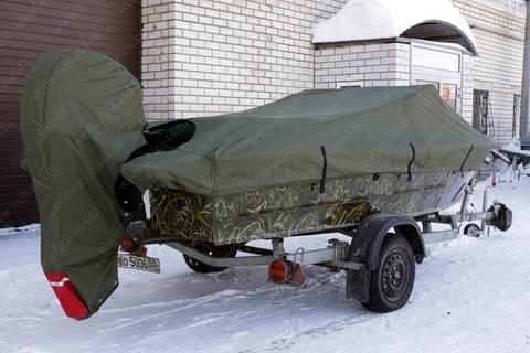 Тент транспортировочный для подвесного мотора Suzuki 30, 2т