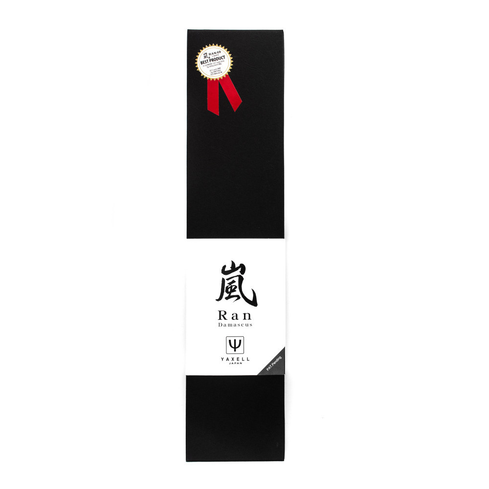 Профессиональный поварской кухонный нож, «Kiritsuke» 20 см, дамасская сталь, серия Ran, YA36034, YAXELL, Япония - фотография