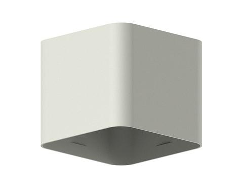 Корпус светильника накладной для насадок 70*70mm C7807 SGR серый песок 70*70*H60mm MR16 GU5.3