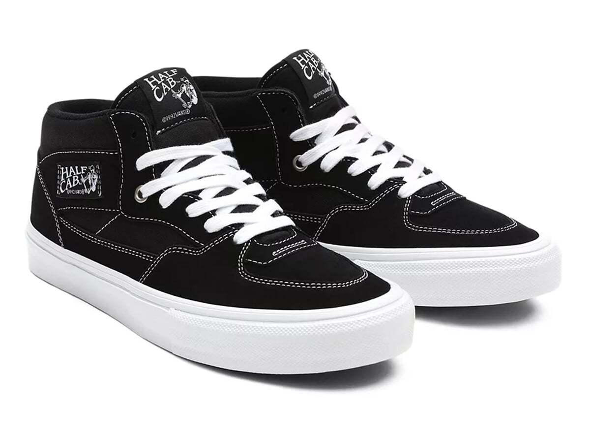 Кеды VANS Skate Half Cab Чёрно-белые