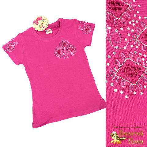 Блуза хлопок девочке (6-12) 210609-SH54077