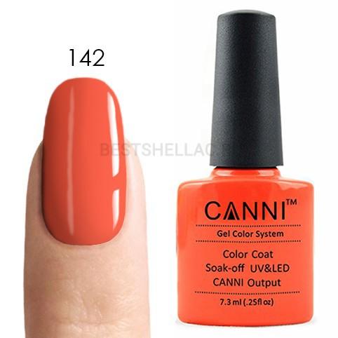 Canni Canni, Гель-лак № 142, 7,3 мл 142.jpg