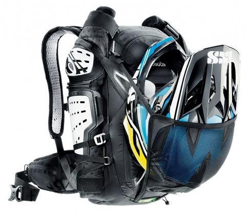 Картинка рюкзак велосипедный Deuter Attack 20 Black - 4