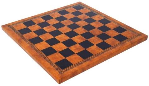 Шахматная доска кожа