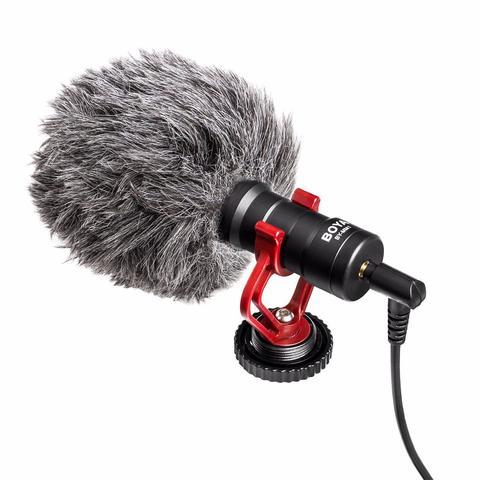 Микрофон BOYA BY-MМ1 для стабилизаторов и смартфонов