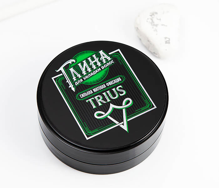 CARE115 Глина «Trius» с сильной фиксацией для волос, матовый эффект (100 гр) фото 04