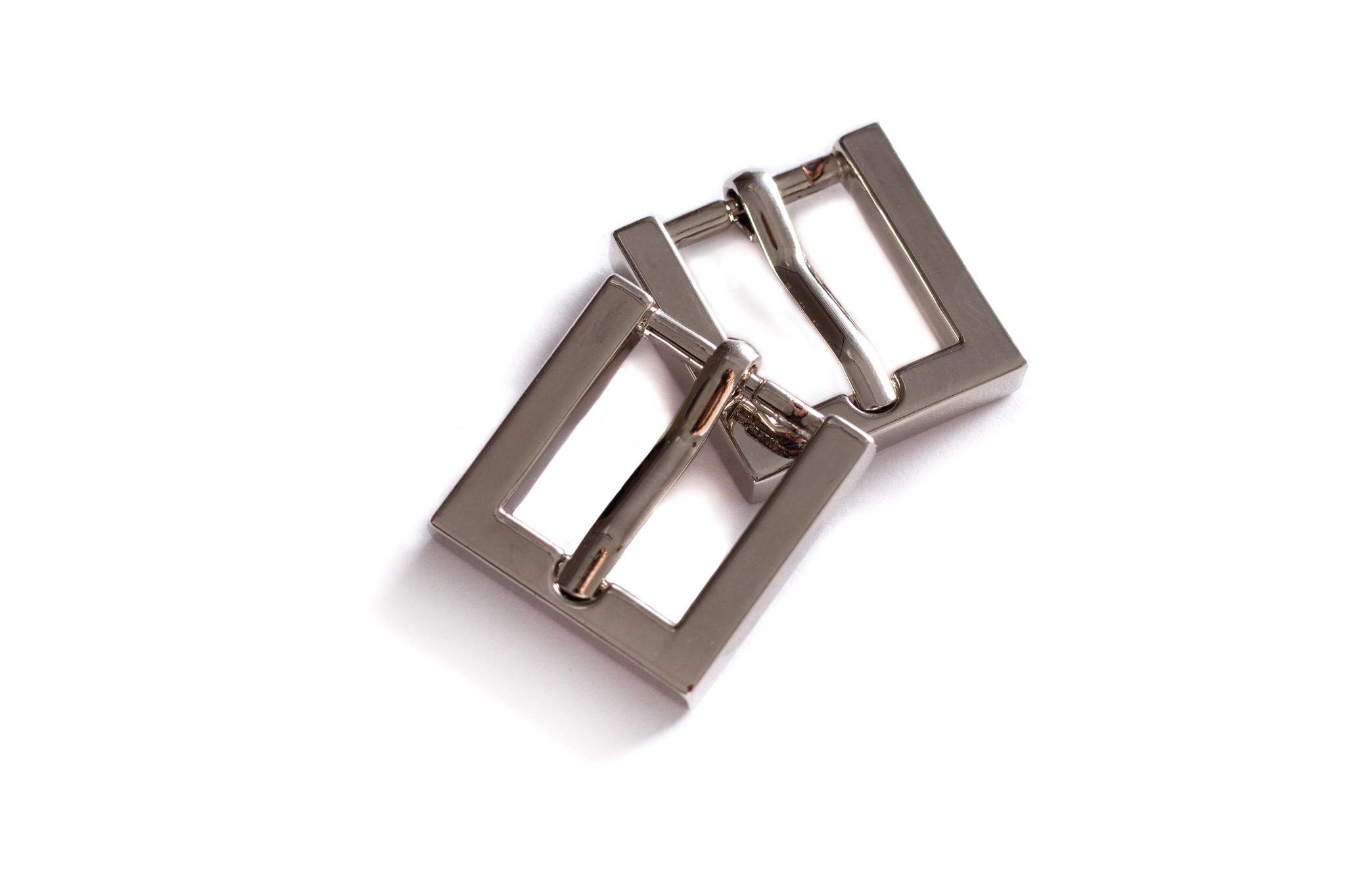 Пряжка 15 мм, никель