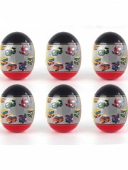 Конструктор LOZ mini Автобус Игрушка в яице 99 деталей NO. 4009-2 Bus Toy in egg Series