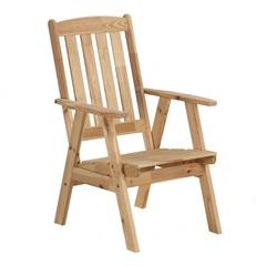 Кресло садовое из сосны Yellowstone