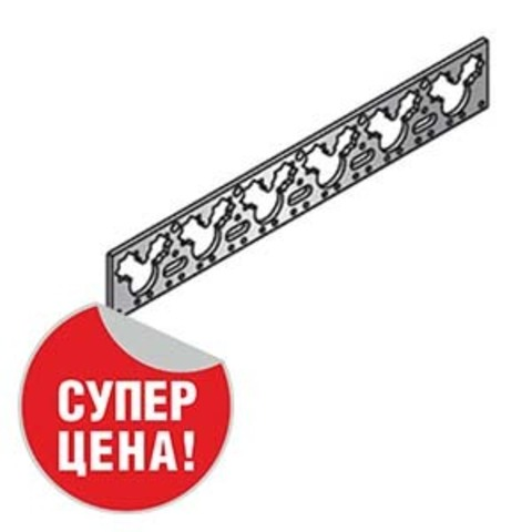 Шина монтажная 2 метра (под скобу) Unipipe