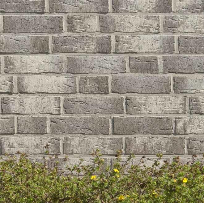 Feldhaus Klinker, K682WDF, sintra argo blanco, ручная формовка, пустотелый - Клинкерный кирпич