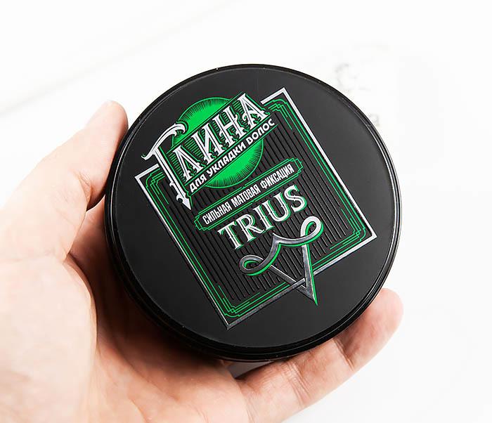 CARE115 Глина «Trius» с сильной фиксацией для волос, матовый эффект (100 гр) фото 05