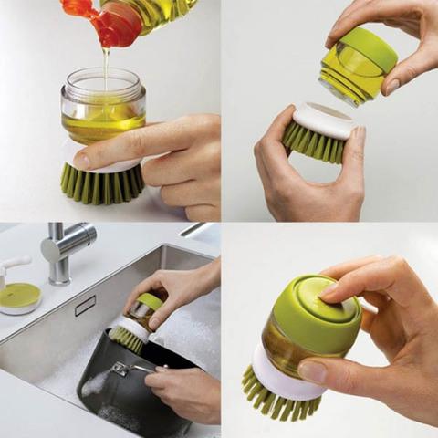 Щетка с дозатором для посуды JESOPB