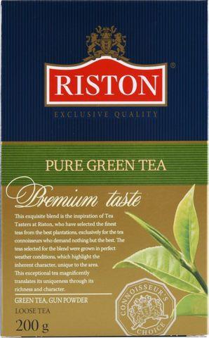 Riston зеленый чай МИНИМАРКЕТ 200г