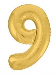 Р Цифра, 9 Slim, Золото, в упаковке 40