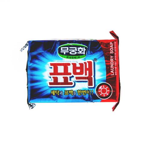 Mukunghwa Laundry soap Отбеливающее и пятновыводящее мыло для стирки цветного белья 230 гр