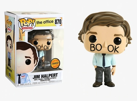 Фигурка Funko Pop! TV: The Office - Jim Halpert (Chase)