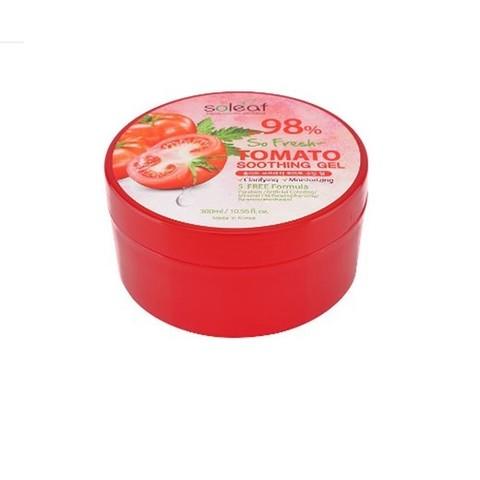 SOLEAF So Fresh Успокаивающий гель с томатом, 300мл