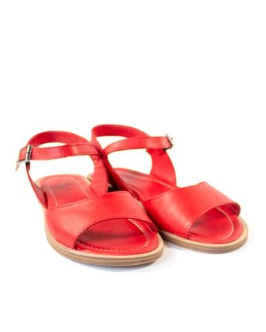 красные сандалии Mario Muzi
