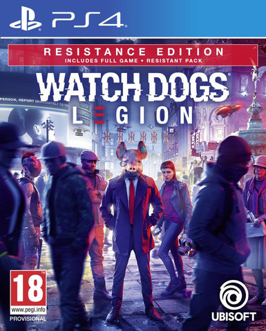 Watch Dogs: Legion. Resistance Edition (PS4, русская версия)