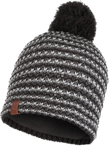 Шапка вязаная с флисом Buff Hat Knitted Polar Dana Graphite фото 1