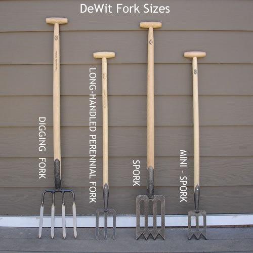 Лопата средних размеров для работы с кустарником DeWit