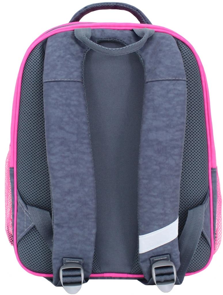 Рюкзак школьный Bagland Отличник 20 л. Серый (кот 65) (0058070)