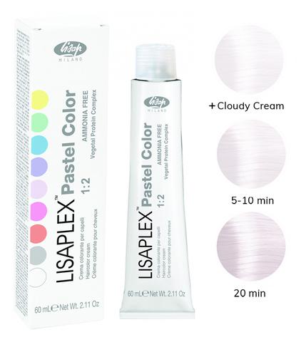 Оттенок Light Pearl Светлый жемчуг Крем-краситель для волос Lisaplex Pastel Color 60мл