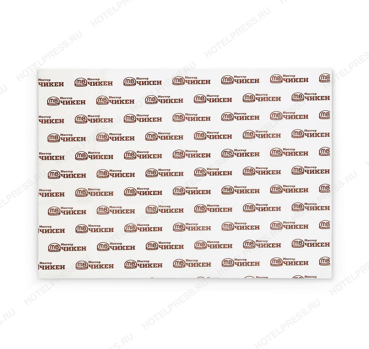 Бумага для упаковки с офсетной печатью