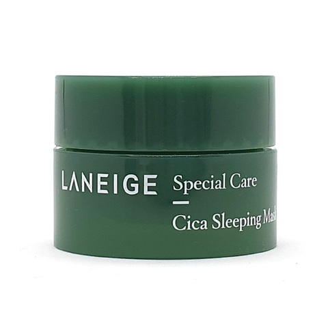 Laneige Special Care Cica Sleeping Mask ночная востанавливающая маска с центеллой