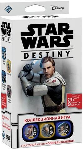 Коллекционная Карточная Игра Star Wars: Destiny. Стартовый набор