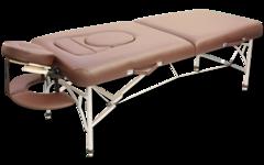 Складной массажный стол Vision Apollo Topmaster (КОРИЧНЕВЫЙ)