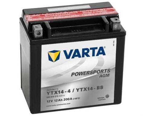Аккумулятор Varta YT14B-4