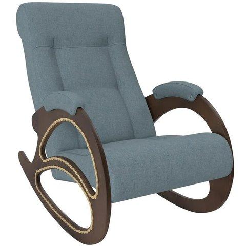 Кресло-качалка Комфорт Модель 4 орех/Montana 602