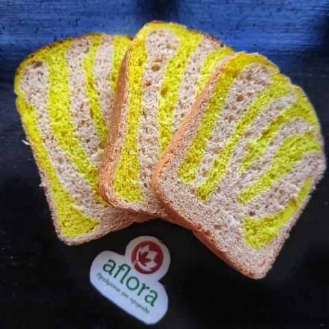 Фотография Хлеб витаминный «Полосатик» / 350 гр / РАСПРОДАЖА купить в магазине Афлора