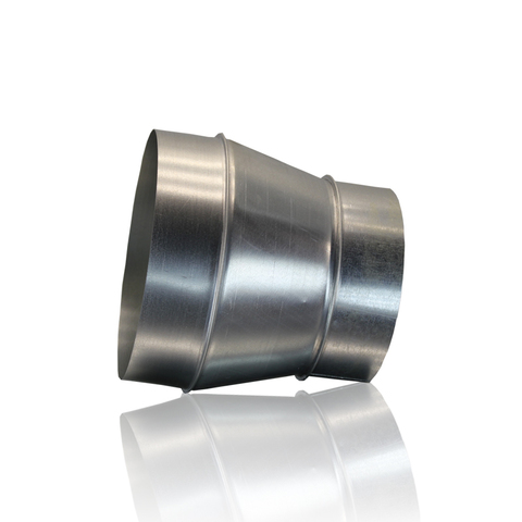 Переход 100х120 оцинкованная сталь