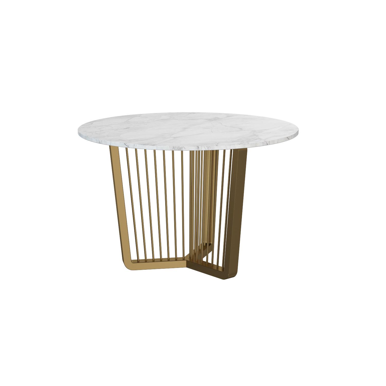 Обеденный стол Alliance Ø110 - вид 1