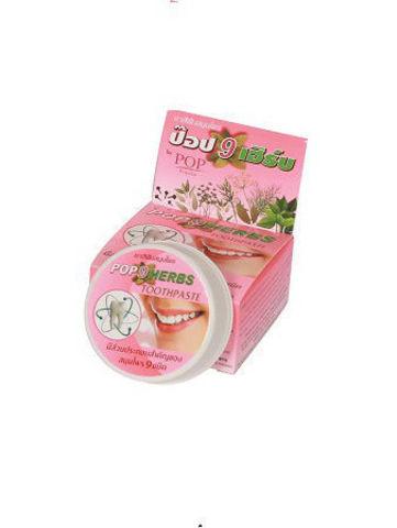 Растительная зуб/паста 9 трав 30г Таиланд