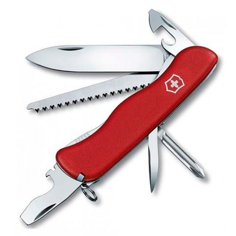 Нож складной Солдатский Victorinox 0.8463 Trailmaster, красный